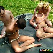 Male nude twink, boys showering