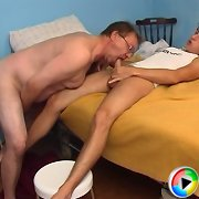 Schoolboysecrets.com - Older men enjoying the freshne..